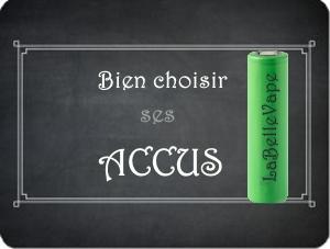 informations sur les accus pour box électro et méca dans le guide labellevape.fr