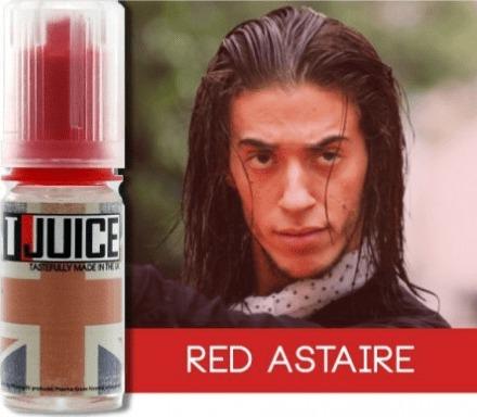 eliquide red astaire de t-juice pour utilisateur de cigarette électronique