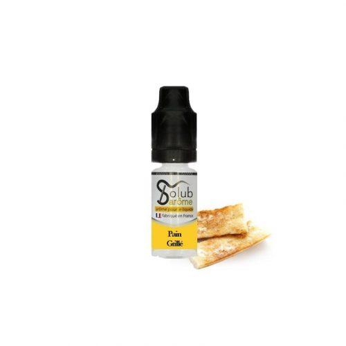 arome et liquide solubarome pain grillé pas cher
