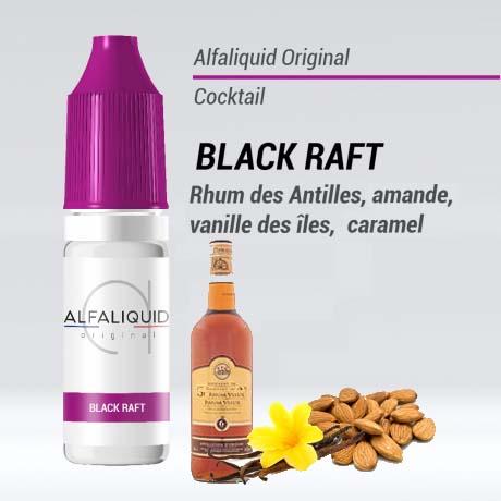 e liquide alfaliquid black raft pas cher