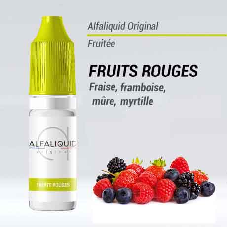 e liquide alfaliquide fruits rouges pas cher