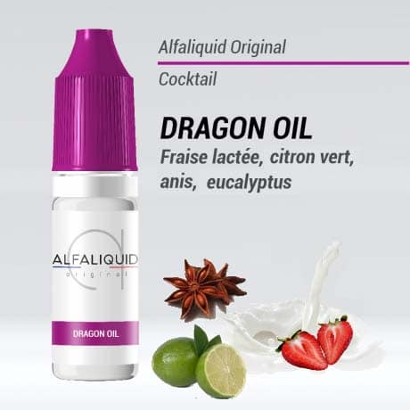 alfaliquid dragon oil pas cher