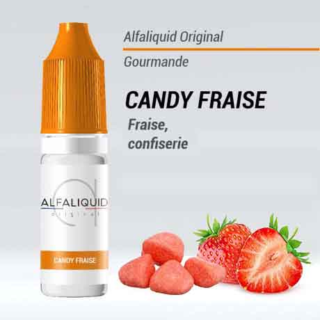 e liquide alfaliquid bonbon fraise pas cher