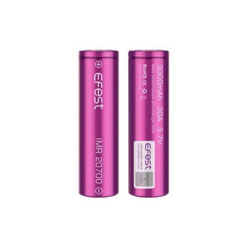 accu 20700 efest accu pour cigarette electronique