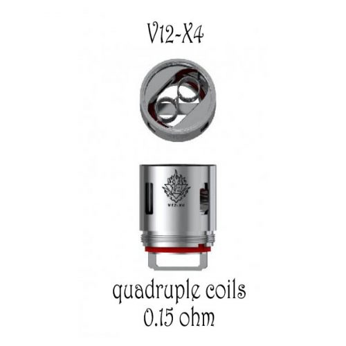 resistance TFV12-x4 smoktech pour clearomiseur TVF12
