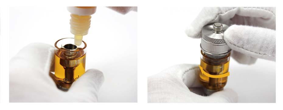 remplissage en eliquide du clearmizer aspire nautilus