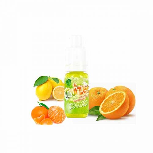 e liquide citron orange mandarine fruizee no fresh