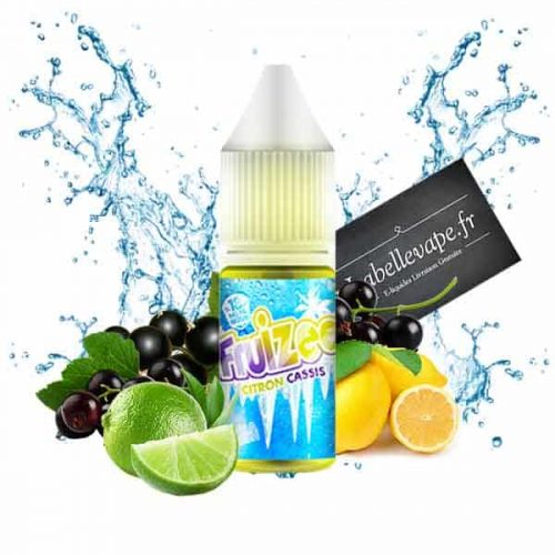 e liquide fruizee citron cassis 10ml