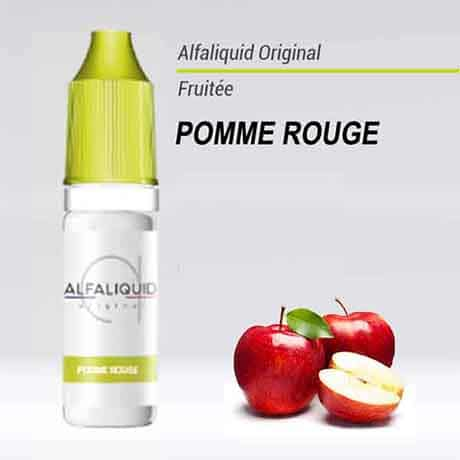 alfaliquid pomme rouge pas cher