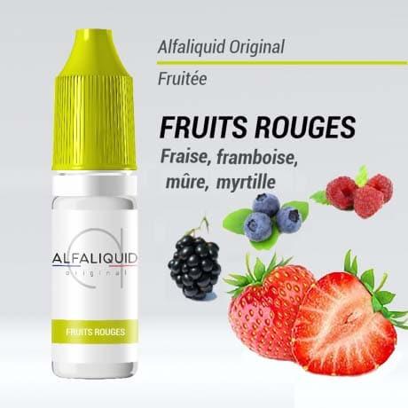 alfaliquid fruit rouge pas cher