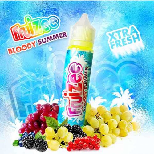 e liquide bloody summer 50ml par fruizee