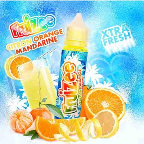 e liquide citron orange mandarine fruizee