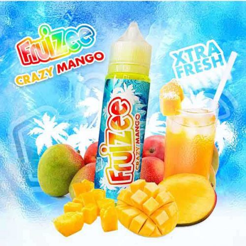 e liquide crazy mango fruizee 50ml