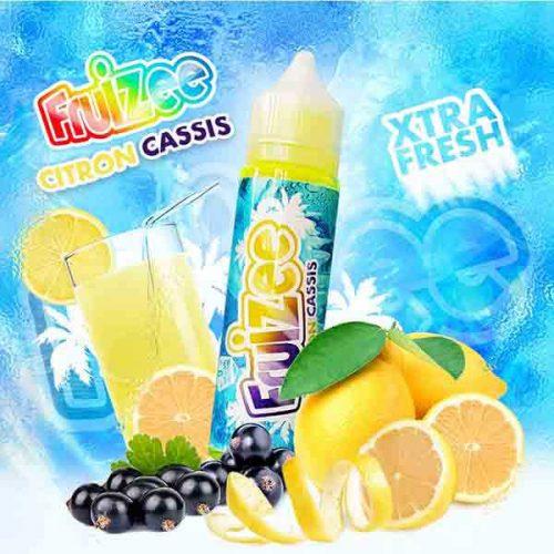 e liquide fruizee citron cassis en 50 ml