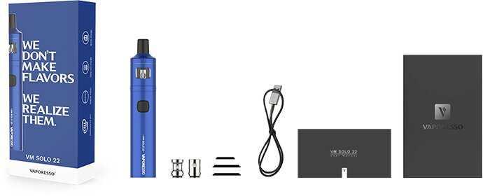 contenu du pack e-cigarette pour débutant