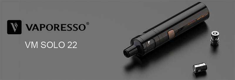 kit cigarette électronique vaporesso vm solo 22