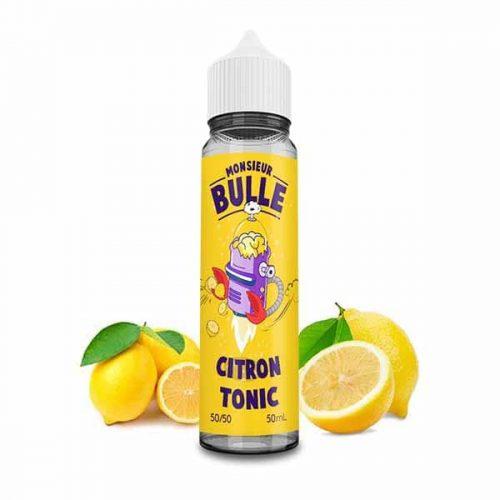 liquideo monsieur bulle citron tonic 50 ml