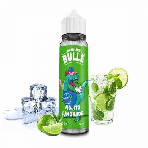 liquideo monsieur bulle mojito limonade 50 ml