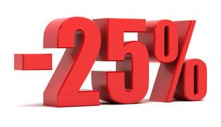 promo e-liquide 25% labellevape