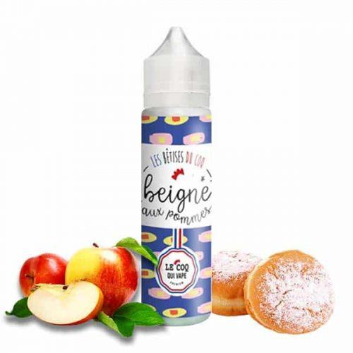 E-liquide beignet aux pommes de chez le coq qui vape