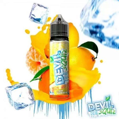 e liquide citron mandarine devil ice squiz avap 50ml