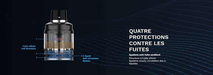 systeme antifuite du kit vaporesso
