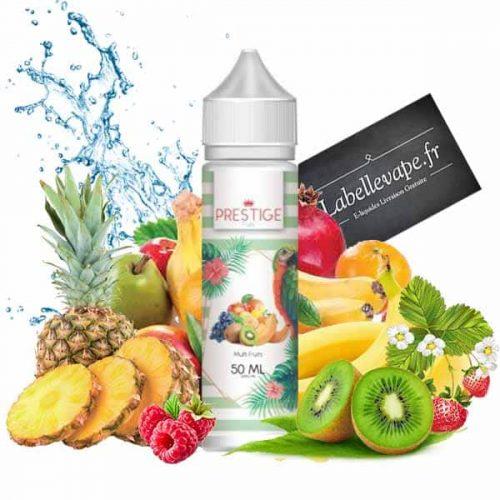 e liquide multifruits 50ml prestige fruits fabriqué en France par vape connection